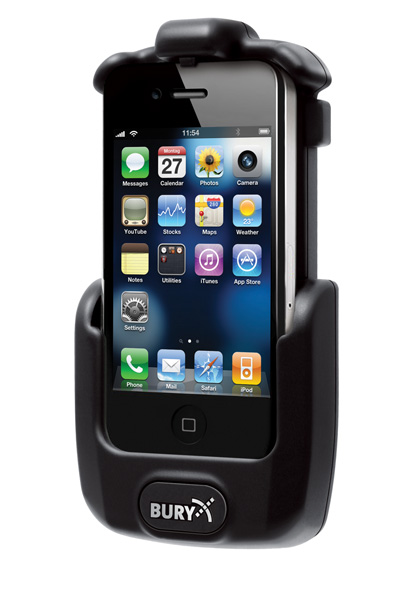 support kit main libre pour apple iphone 4 accessoires. Black Bedroom Furniture Sets. Home Design Ideas