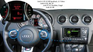 Kit mains libres bluetooth compatible orgine Audi A4 Type 8E - B6 - B7