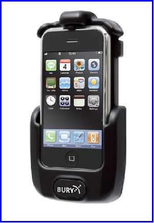 support kit main libre pour APPLE IPHONE 3G 3GS BLUETOOTH - accessoires telephones THB-BURY